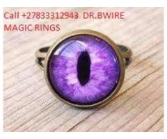 Magic rings for money, powers fame and wealth call +27833312943