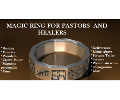 We offer Business Money Spells and Personnel Magic Rings For Wealth