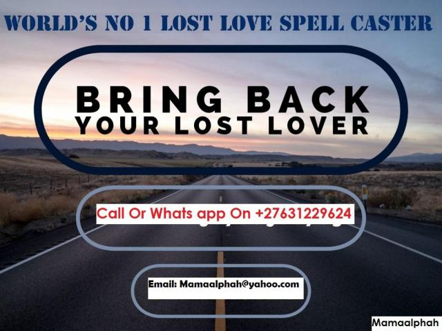Lost Love Spell Caster With LOVE SPELLS THAT WORK