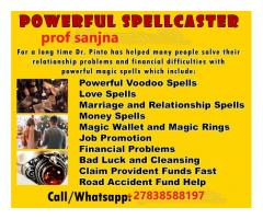 Power Spells, strong herbs call Prof Sanjna +27838588197 RESULTS GUARANTEED